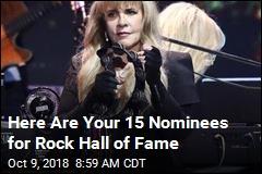 Stevie Nicks Vies for Rare Music Honor