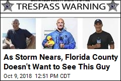 Sheriff's Office 'Warns' Meteorologist to Stay Away