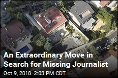 An Unusual Move in Search for Missing Journalist
