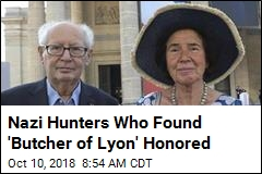 Nazi Hunters Who Found 'Butcher of Lyon' Honored