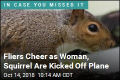 Fliers Cheer as Woman, Squirrel Are Kicked Off Plane