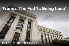 Trump: Fed 'Is Going Loco'