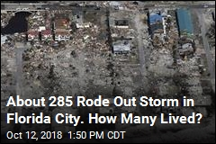 About 285 Rode Out Storm in Florida City. How Many Lived?