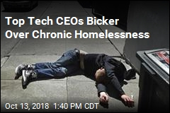 Top Tech CEOs Bicker: Who's Helping the Homeless?