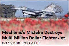 Mechanic's Mistake Destroys Multi-Million Dollar Fighter Jet