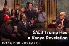 SNL's Trump Has a Kanye Revelation