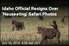 Idaho Official Resigns Over 'Nauseating' Safari Photos