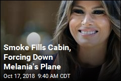 Smoke Forces Melania Trump's Plane to Make Unplanned Landing