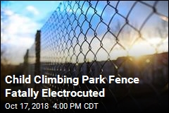 Child Climbing Park Fence Fatally Electrocuted
