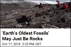 'Earth's Oldest Fossils' May Just Be Rocks