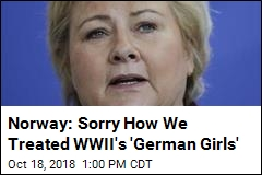 Norway: Sorry How We Treated WWII's 'German Girls'
