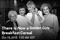 There is Now a Golden Girls Breakfast Cereal