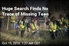 Big Search for Missing Teen Yields Nothing