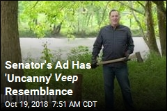 Senator's Ad Is a Lot Like One From Veep