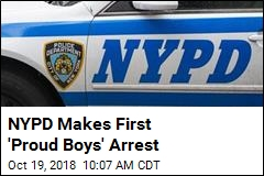 NYPD Makes First 'Proud Boys' Arrest