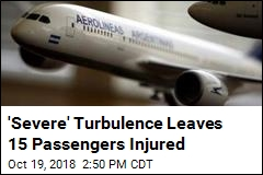 15 Injured When 'Severe' Turbulence Hits Plane