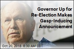 Governor Up for Re-Election Makes Gasp-Inducing Announcement