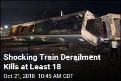 Fast Taiwan Train Derails, Killing at Least 18