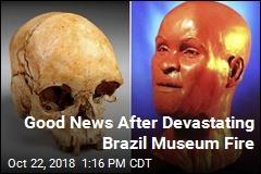Good News After Devastating Brazil Museum Fire