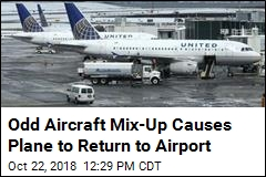Plane Has to Turn Around After Odd Mix-Up
