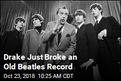 Drake Just Broke an Old Beatles Record