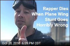 Rapper Dies When Plane Wing Stunt Goes Horribly Wrong