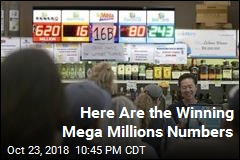 Here Are the Winning Mega Millions Numbers