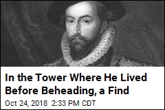 400 Years After His Beheading, an Image of His Head?