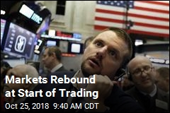 Markets Rebound at Start of Trading