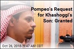 Khashoggi's Son Now in the US