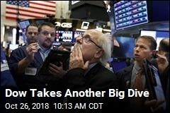 Dow Takes Another Big Dive