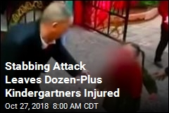 Stabbing Attack Leaves Dozen-Plus Kindergartners Injured