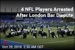 4 Jacksonville Jaguars Detained Over London BarTab