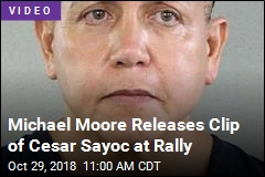 Michael Moore Releases Clip of Cesar Sayoc at Rally
