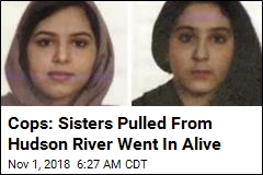 Cops: Sisters Found Bound Together Entered Water Alive
