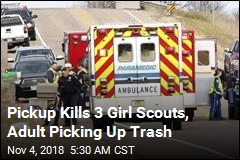 Pickup Kills 3 Girl Scouts, Adult Picking Up Trash