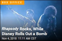 Rhapsody Rocks, While Disney Rolls Out a Bomb