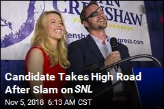 Candidate Takes High Road After Slam on SNL