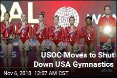 USOC Takes Steps to Shut Down USA Gymastics