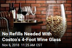 Need a 4-Foot-Tall Wine Glass? Costco Has It
