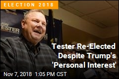 Jon Tester Wins Re-Election
