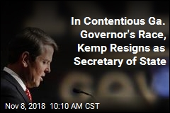 Kemp Insists He Won Governor's Race, Resigns as Secretary of State