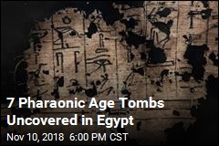 New Mummies Found in Egyptian Tombs