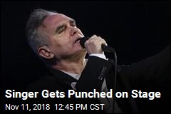 Morrissey Punched on Stage