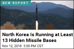North Korea Is Running at Least 13 Hidden Missile Bases