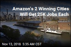 Report: New Amazon HQs Will Be in NYC, Virginia
