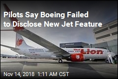 Pilots Say Boeing Failed to Disclose New Jet Feature