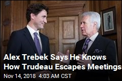 Alex Trebek Claims Trudeau Has a Secret ... Buzzer