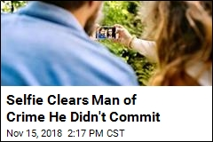 Thanks to Selfie, Man Cleared of Crime He Didn't Commit