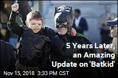 5 Years Later, an Amazing Update on 'Batkid'